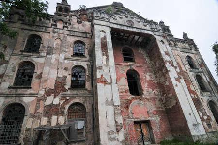 chóralne: Synagoga chóralna z Drohobycza na Ukrainie przeliczane przez Sowietów do sklepu meblowego, to marnieje bez społeczności żydowskiej, aby ją utrzymać
