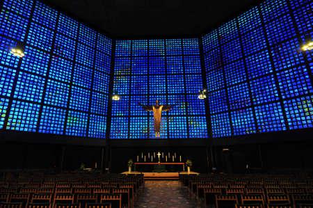 kaiser: Kaiser Wilhelm Memorial Church Altar and Interior