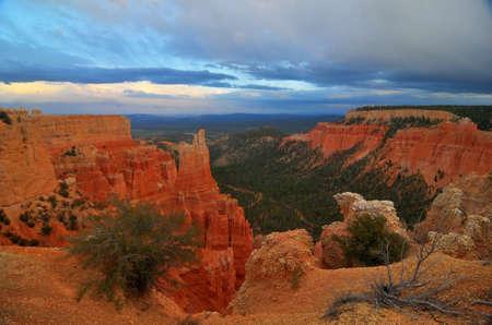 Bryce Canyon Rock Formations USA photo