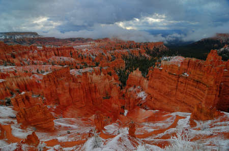 Bryce Canyon Enveloped in Snow photo