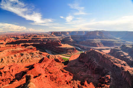Dead Horse Point State Park, Utah, USA  Wide-angle view  Stock Photo - 20557353