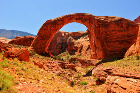 Rainbow Bridge National Monument  Large enough to fit the Statue of Liberty under its arch  photo