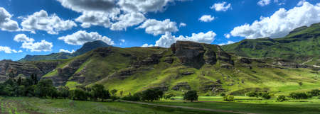 landlocked: Hilly landscape of the Butha-Buthe region of Lesotho  Lesotho, officially the Kingdom of Lesotho, is a landlocked country and enclave
