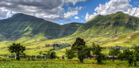 Hilly landscape of the Butha-Buthe region of Lesotho  Lesotho, officially the Kingdom of Lesotho, is a landlocked country and enclave