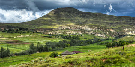 lesotho: Hilly landscape of the Butha-Buthe region of Lesotho  Lesotho, officially the Kingdom of Lesotho, is a landlocked country and enclave