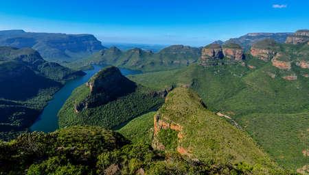 paisagem: Blyde River Canyon e Os Tr
