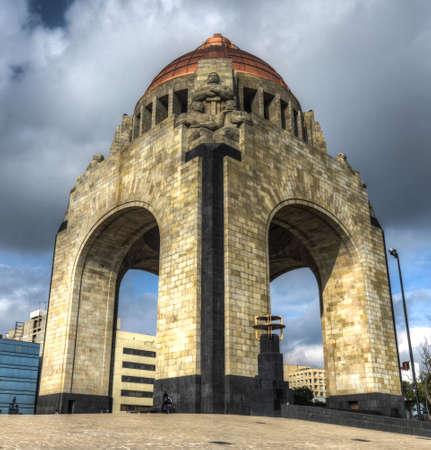 Monument to the Mexican Revolution  Monumento a la Revolución Mexicana , built in Mexico City in 1936  Banco de Imagens