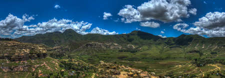 enclave: Hilly landscape of the Butha-Buthe region of Lesotho  Lesotho, officially the Kingdom of Lesotho, is a landlocked country and enclave
