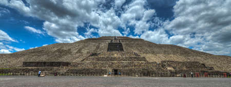 The Pyramid of the Sun of Teotihuacan  One of the largest buildings in Teotihuacan and one of the largest in Mesoamerica