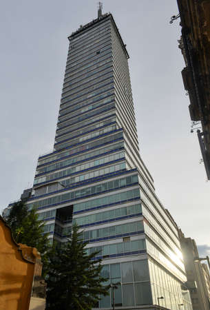 Latinoamericana Tower  Torre Latinoamericana , near the Zocalo, in Mexico City