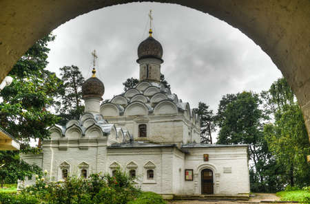 Russian Orthodox Church of Archangel Michael at Arkhangelskoye Palace  Built in 1646 in the classical style