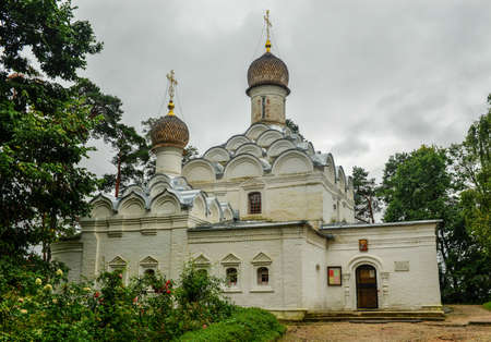 Russian Orthodox Church of Archangel Michael at Arkhangelskoye Palace  Built in 1646 in the classical style  photo
