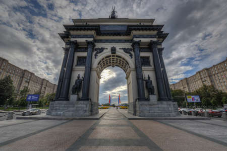 memorable: Triumphal Arch of Moscow to commemorate Russia