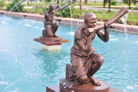 Kwame Nkrumah Memorial Park Fountain  Kwame Nkrumah Memorial Park  KNMP  is a National Park in, Accra, Ghana named after Osagyefo Dr  Kwame Nkrumah, the founding father of Ghana