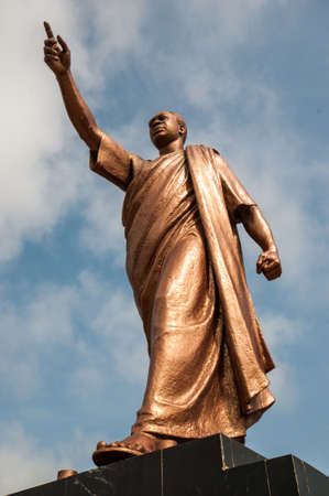 Kwame Nkrumah Memorial Park  Kwame Nkrumah Memorial Park  KNMP  is a National Park in, Accra, Ghana named after Osagyefo Dr  Kwame Nkrumah, the founding father of Ghana