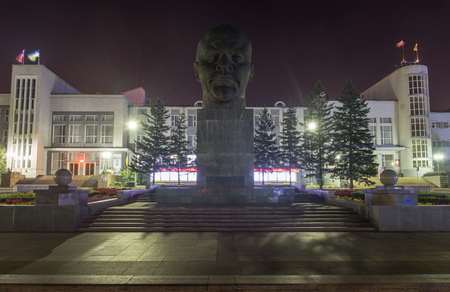ulan ude: Monument to Ulyanov Lenin in Russia the city of Ulan-Ude  The head was built in 1970 for the centennial of Lenin