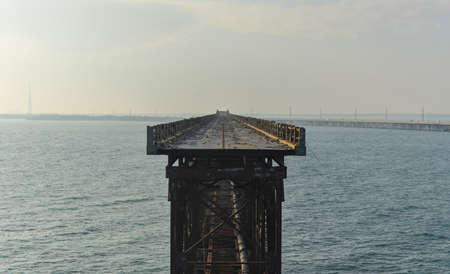 Old Bahia Honda Rail Bridge, Florida  photo