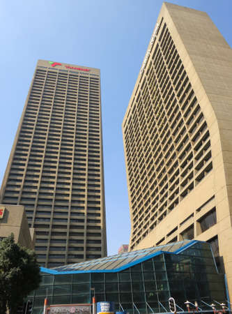 JOHANNESBURG, SOUTH AFRICA - MAY 31, 2013: The Carlton Centre in Johannesburg South Africa. Editorial