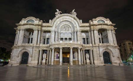 federal hall: Palacio de Bellas Artes  Spanish for Palace of Fine Arts  Mexico City