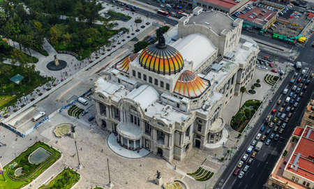 Palacio de Bellas Artes  Spanish for Palace of Fine Arts  Mexico City