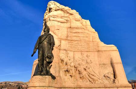 batallon: La Capital del Estado edificio Batall�n Morm�n Monumento de Utah en Salt Lake City, Utah.