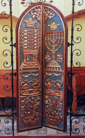 Krakow - Remuh Synagogue is the smallest of all historic synagogues of the Kazimierz district of Krakow. It is currently the only active synagogue in the city.