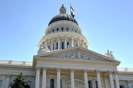 Sacramento Capitol Building in California. The building serves as both a museum and the states working seat of government. photo