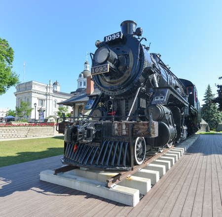 kingston: An old locomotive called the Spirit of Sir John A., which was in active service until 1960 and later became a landmark. Editorial