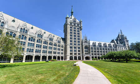 suny: The SUNY System Administration Building, formerly the Delaware   Hudson Railroad Building  A public office building located at the intersection of Broadway   State Street in downtown Albany, New York