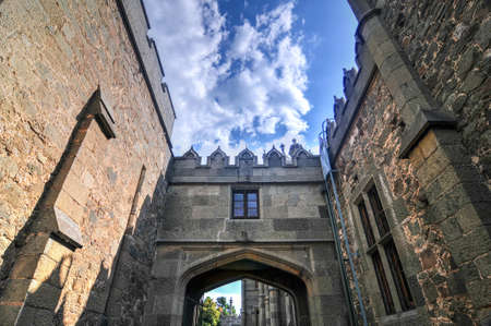 voroncov: Vorontsov Palace Entrance - Crimea, Ukraine  A historic palace situated at the foot of the Crimean Mountains near the town of Alupka in Crimea