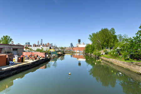 geographically: The Gowanus Canal, also known as the Gowanus Creek Canal, is a canal in the New York City borough of Brooklyn, geographically on the westernmost portion of Long Island.