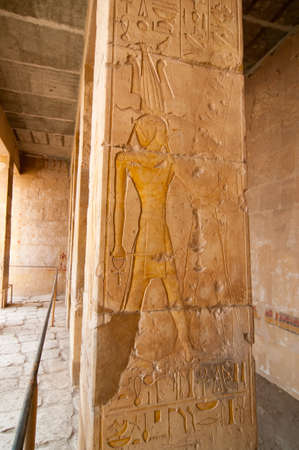 The Mortuary Temple of Queen Hatshepsut, Egypt.