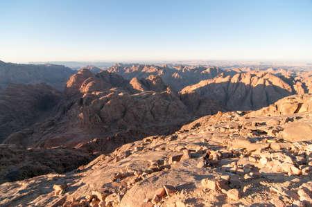 monte sinai: Reserva Natural de Santa Catalina, Sinaí, Egipto. Foto de archivo
