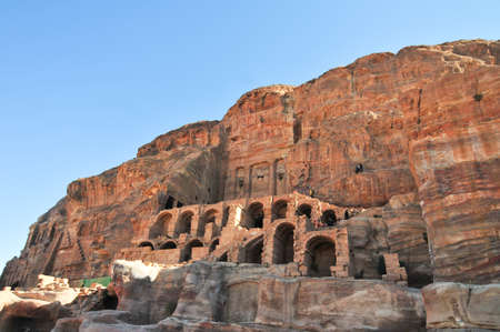nabataeans: Nabataeans capital city (Al Khazneh), Petra, Jordan.