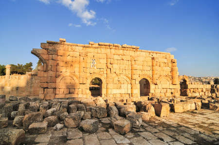 antiquity: Ancient Roman city of Gerasa of Antiquity, modern Jerash, Jordan
