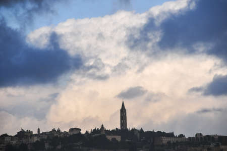 Mount Zion - a hill in Jerusalem just outside the walls of the Old City in Israel. photo