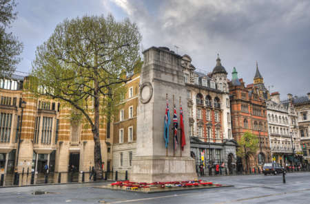 europeans: Cenotaph to commemorate the dead of all wars, Whitehall, London, UK Editorial