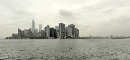 eastriver: View of Downtown Manhattan, New York from the East River