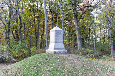 reynolds: John Fulton Reynolds Memorial monument at the Gettysburg National Military Park, Pennsylvania. Editorial