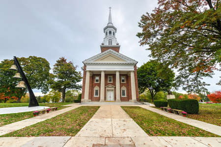 Lutheran Seminary at the Gettysburg National Military Park, Pennsylvania. Editorial