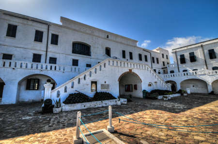 Cape Coast Castle is a fortification in Ghana built by Swedish traders for trade in timber and gold. Later the structure was used in the trans-Atlantic slave trade. Redakční