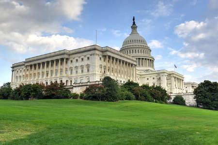 ワシントン DC で米国の国会議事堂の建物。 写真素材