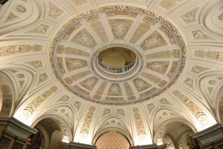 VIENNA, AUSTRIA - NOVEMBER 30, 2014: Interior of the Naturhistorisches Museum (Natural History Museum) of Vienna, Austria