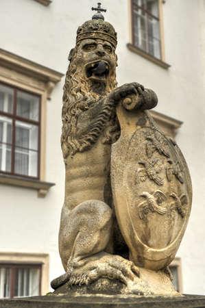 The Hofburg Palace Courtyard in Vienna, Austria 新闻类图片