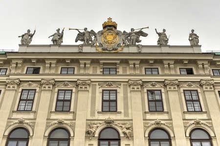 hofburg: Le palais de la Hofburg Courtyard � Vienne, Autriche