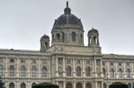 VIENNA, AUSTRIA - NOVEMBER 30, 2014: Naturhistorisches Museum (Natural History Museum) of Vienna, Austria Editöryel