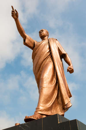 founder: Kwame Nkrumah Memorial Park. Kwame Nkrumah Memorial Park (KNMP) is a National Park in, Accra, Ghana named after Osagyefo Dr. Kwame Nkrumah, the founding father of Ghana. Editorial