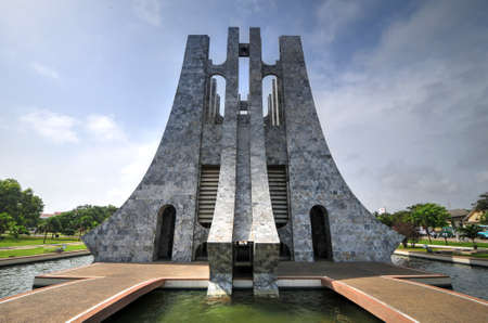 Kwame Nkrumah Memorial Park. Kwame Nkrumah Memorial Park (KNMP) is a National Park in Accra, Ghana named after Osagyefo Dr. Kwame Nkrumah, the founding father of Ghana. Editorial