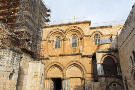 monotheism: Church of the Holy Sepulchre in the Old City of Jerusalem.