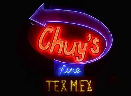 AUSTIN, TX - MARCH 6, 2014: Chuys, a popular TexMex restaurant in Austin, Texas during the SXSW Interactive Conference.